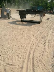 产品外表吹砂处理
